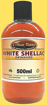 Dewaxed White Shellac (500ml)